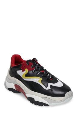 Желто-красно-черные кроссовки Ash 6115848