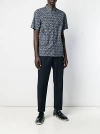 Theory - рубашка Irving с принтом 35565938339850000000