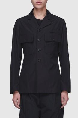 Черный пиджак с карманами Maison Margiela 1350116231