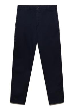 Синие брюки с вышивкой Kenzo 1567118352