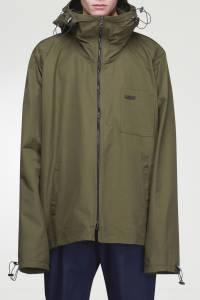 Куртка оттенка хаки Lanvin 372118370