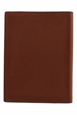 Коричневая кожаная обложка для паспорта Coach 2219118414