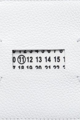 Белый кожаный кошелек с отделкой Maison Margiela 1350118673