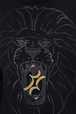 Черный свитшот со львом Billionaire 1668118518