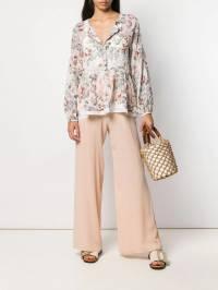 Semicouture - блузка с цветочным принтом T6093968958000000000
