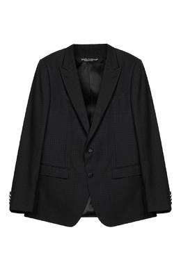 Костюм-двойка из фактурной ткани Dolce&Gabbana 599119540