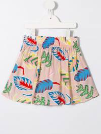 Stella McCartney Kids - юбка с тропическим принтом 339SMK80936566950000