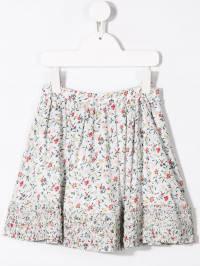 Chloé Kids - короткая юбка с цветочным принтом 033Z5693969699000000