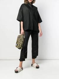 Yves Salomon - рубашка с манжетами на рукавах H65036COXW9389668000
