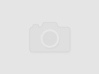 Голубой комбинезон с шапкой Burberry Kids 1253120457