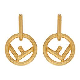 Fendi Gold F is Fendi Hoop Earrings 8AG801 B08