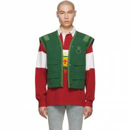 Gucci Green Ring Vest 552427 XDAF5