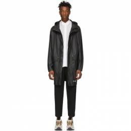 Stutterheim Black Ekeby Lightweight Raincoat 191924M17601003GB