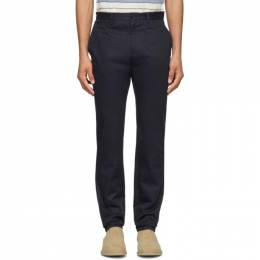 A.P.C. Navy Classic Chino Trousers 191252M19100608GB