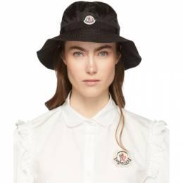Moncler Black Logo Bucket Hat 00926 - 05 - 54155