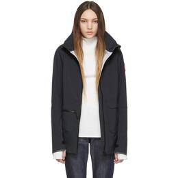 Canada Goose Black Pacifica Raincoat 191014F06300101GB
