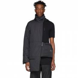 A-Cold-Wall* Black Asymmetric Jacket 191891M17600103GB