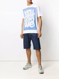 Junya Watanabe MAN - футболка с графичным принтом 603S9993903380000000
