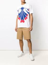 Junya Watanabe MAN - футболка с графичным принтом 608S9993903330000000