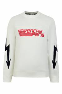 Белый свитшот Givenchy Kids 2893120432