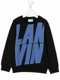 Lanvin Enfant - толстовка с принтом логотипа 636JX566936933609380