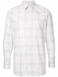 Gieves & Hawkes - рубашка в клетку 56EM6566590593538000