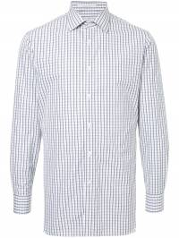 Gieves & Hawkes - рубашка в клетку 59EM6063890535533000