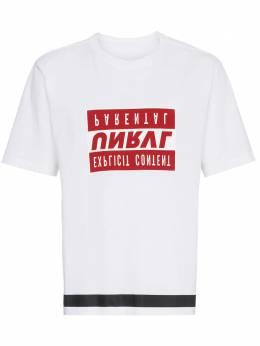 Unravel Project футболка 'Explicit Content' UMAA004S181260170120