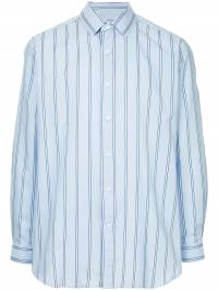 Ports V - embroidered back striped shirt HCL53FWD653939695690