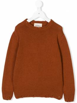 Douuod Kids - distressed knit sweater 606GKO93005058000000