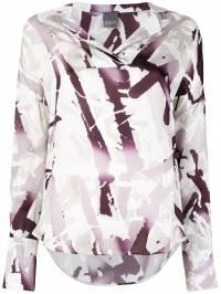 Lorena Antoniazzi - printed shirt 505CA303359305355300