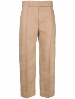 Alexandre Vauthier - creased cropped trousers PA853633893988036000