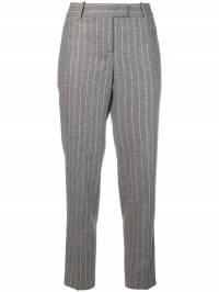 Ermanno Scervino - pinstripe cropped trousers 6P363YGR930398850000