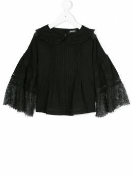 Diesel Kids - блузка с кружевными панелями ARED6TAPV90605393000