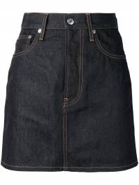 Helmut Lang - джинсовая юбка-мини DW369935889660000000