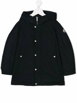 Moncler Kids - hooded long coat 59655555393936539000