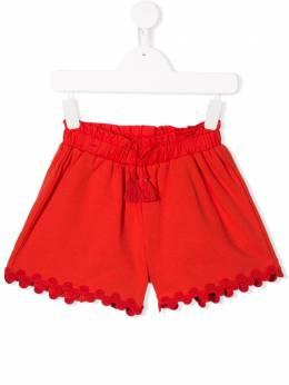 Chloé Kids - шорты с декоративной отделкой 53699093669533000000