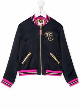 Little Marc Jacobs - двухсторонняя куртка-бомбер 699T3893663660000000
