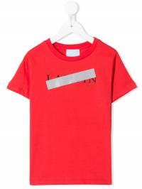 Lanvin Enfant - футболка с логотипом 609KA656936369530000