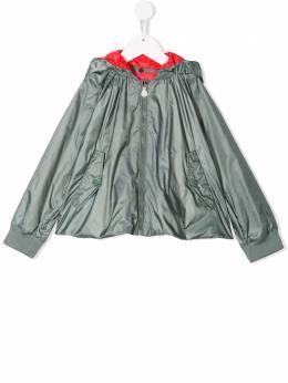 Moncler Kids куртка на молнии с капюшоном 4610185549K3