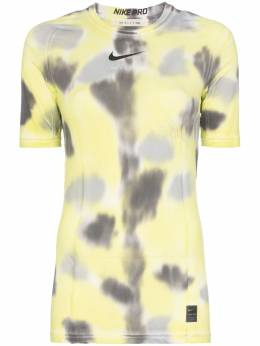 1017 ALYX 9SM - спортивная футболка Nike с принтом тай-дай и логотипом TS6663B9509335835300