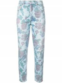 Citizens Of Humanity - зауженные джинсы с цветочным принтом 69969333393800000000