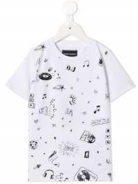 Emporio Armani Kids - футболка с графичным принтом TJ63J68Z939635390000