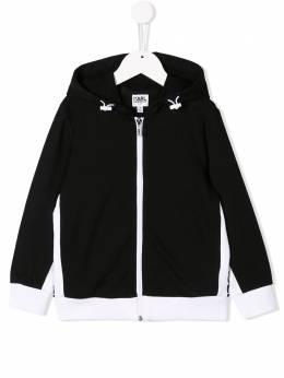 Karl Lagerfeld Kids спортивная куртка Karl Z25191