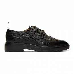 Thom Browne Black Classic Longwing Brogues FFO002G-00198