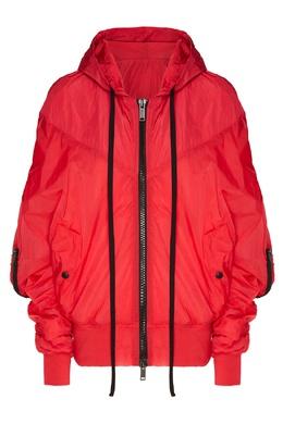 Красная куртка оверсайз с капюшоном Unravel Project 2852123248