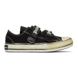 Palm Angels Black Velcro Vulcanized Sneakers 192695M23700203GB