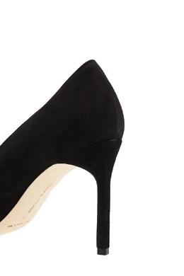 Черные замшевые туфли ВВ Manolo Blahnik 166124091