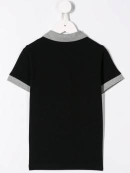 Moncler Kids - рубашка-поло с логотипом 83638568596W93688858