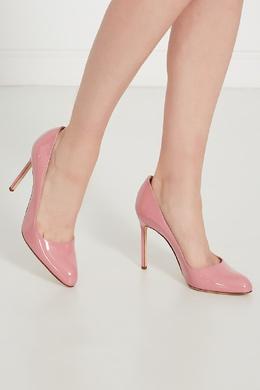 Розовые туфли BBR Manolo Blahnik 166124140